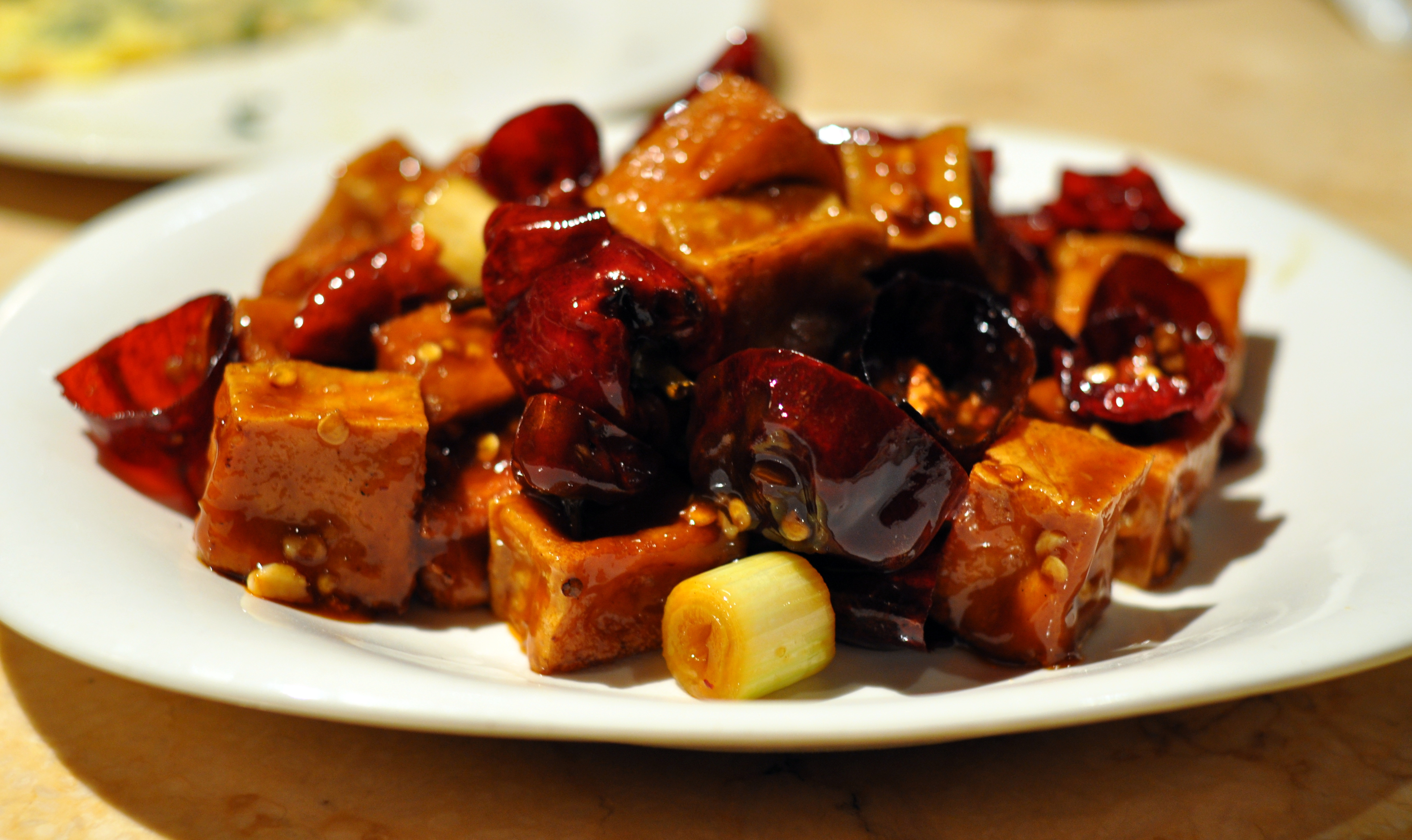 ... 20140220 kung pao tofu recipe kung pao tofu fried tofu red bell pepper