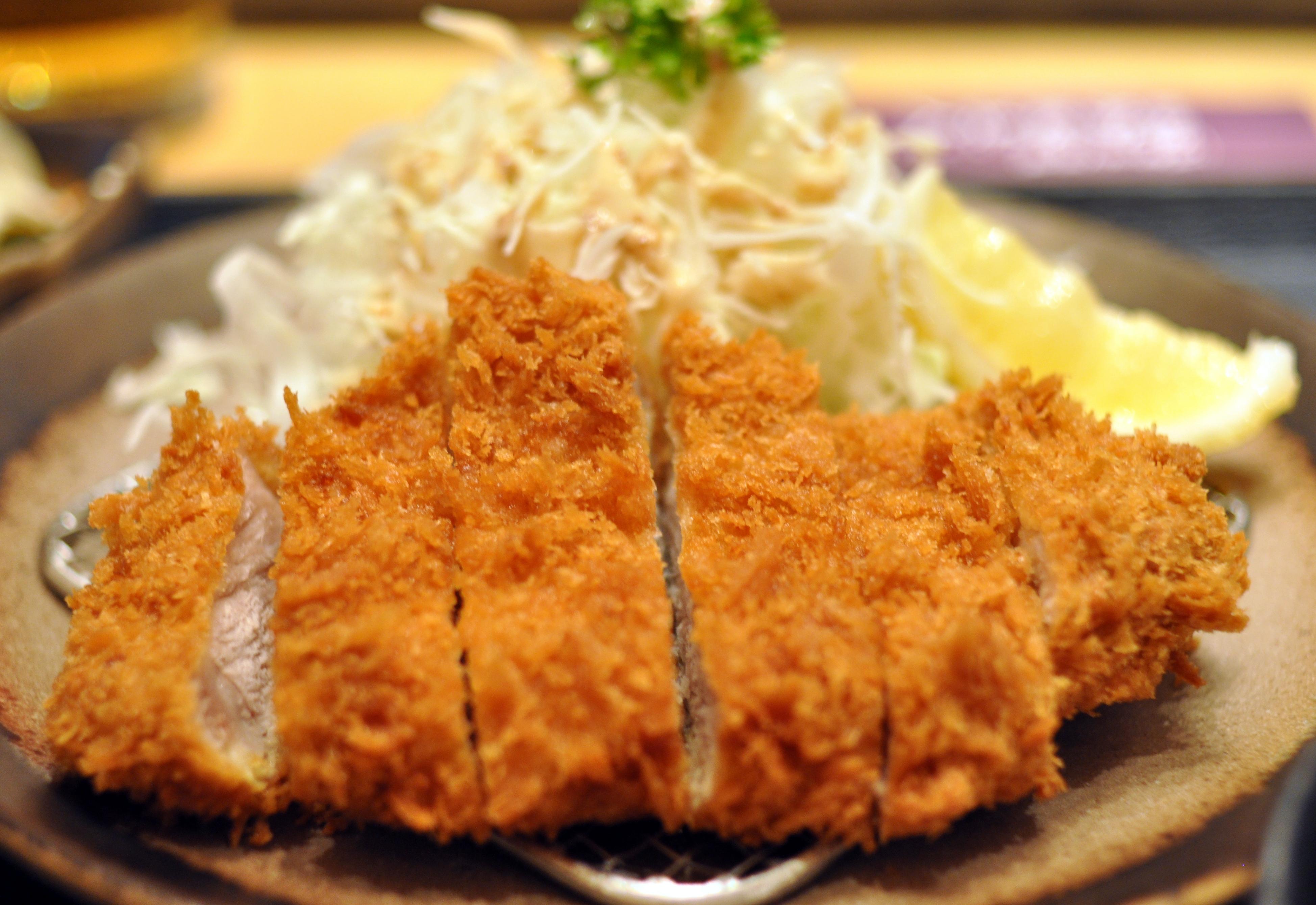 pork cutlet tonkatsu japanese pork cutlet tonkatsu sauce japanese ...