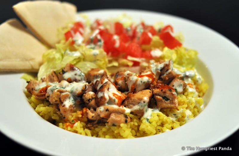 Recipe: Halal Cart-Style Chicken and Rice with White Sauce | The ...