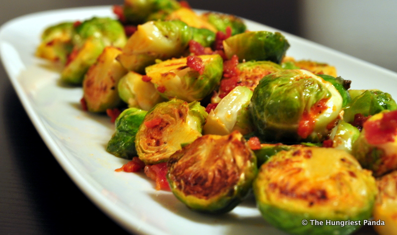 Sriracha Brussel Sprouts w/Lime