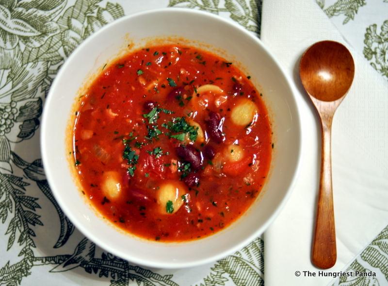 Orecchiette and Kidney Bean Soup1