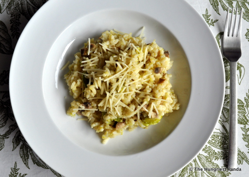 Fava Bean Mushroom Risotto3