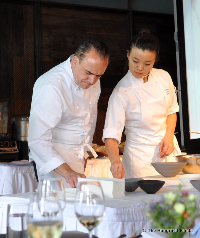 Jean Georges Cooking Demo2