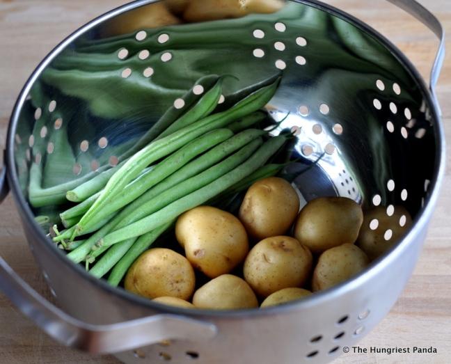 Pesto, Potatoes, Green Bean Pasta1