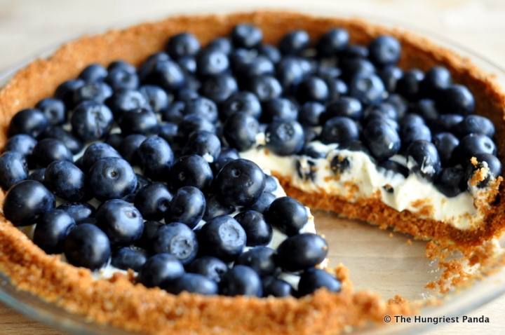Blueberry Lemon Mascarpone Cookie Crust Tart12