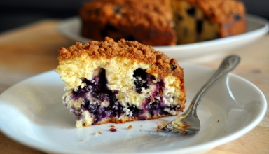 Blueberry Buttermilk Coffee Cake - featured