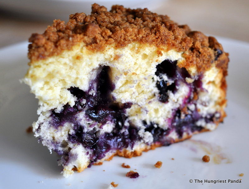 Recipe: Blueberry Buttermilk Coffee Cake | The Hungriest Panda