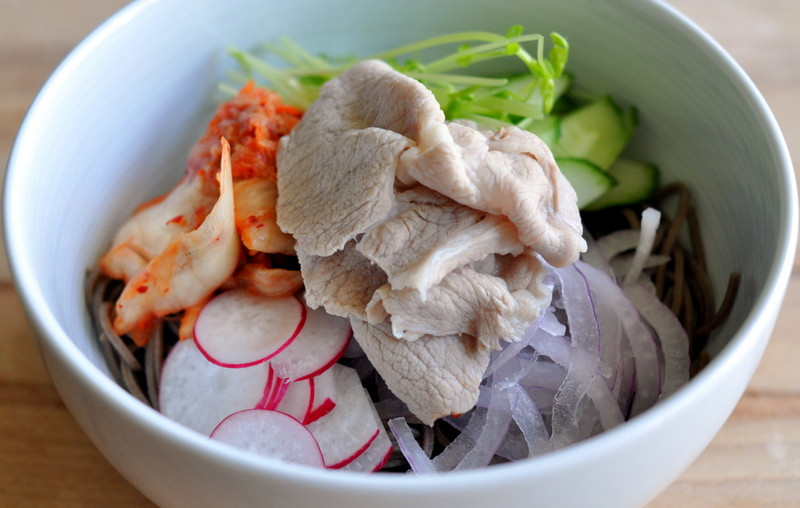 Recipe:  Pork Rei-Shabu with Soba