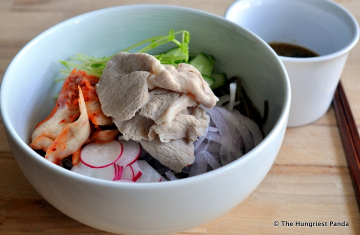 Pork Rei-Shabu with Soba5