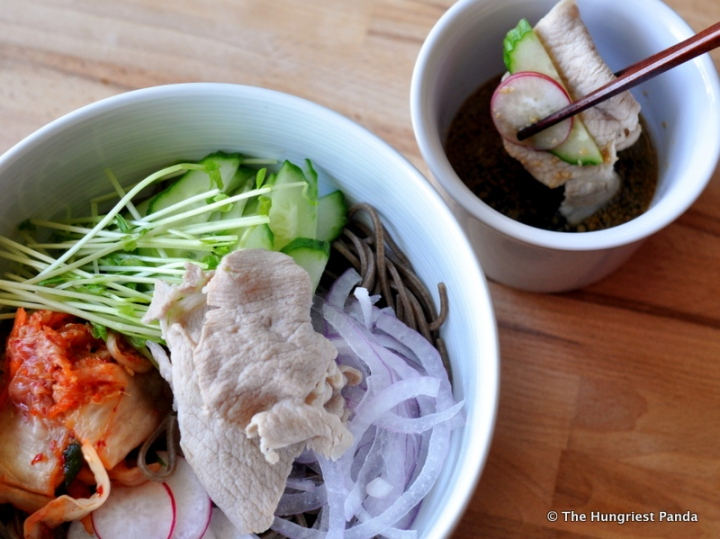 Pork Rei-Shabu with Soba6