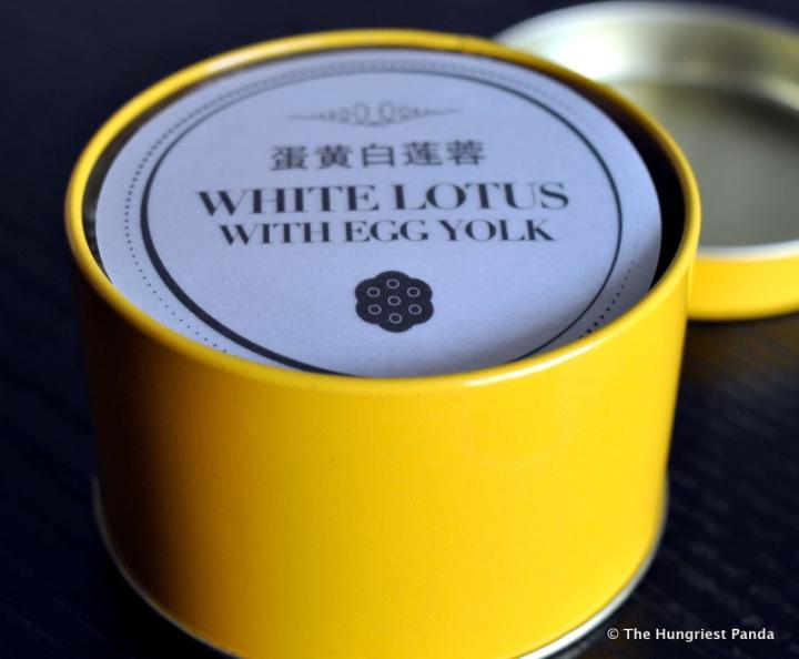 Andaz Hotel - White Lotus with Egg Yolk Mooncake