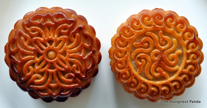 Andaz Hotel - Mooncakes, White Lotus with Egg Yolk, Coconut, design
