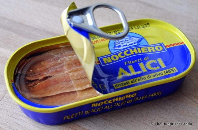 Sicilian style Spaghetti - anchovies